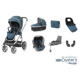 BabyStyle Oyster 3 Luxury Bundle Regatta Mirror