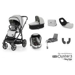 BabyStyle Oyster 3 Luxury Bundle Tonic City Grey
