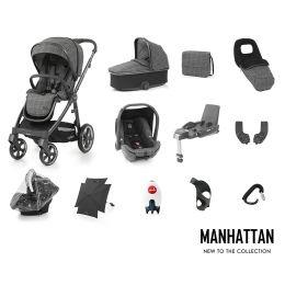 BabyStyle Oyster 3 Ultimate Bundle Manhattan City Grey