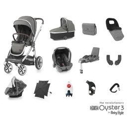 BabyStyle Oyster 3 Ultimate Bundle Mercury Mirror