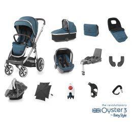 BabyStyle Oyster 3 Ultimate Bundle Regatta Mirror