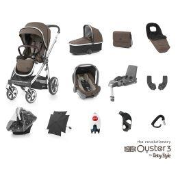 BabyStyle Oyster 3 Ultimate Bundle Truffle Mirror