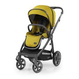 BabyStyle Oyster 3 Pushchair Mustard City Grey