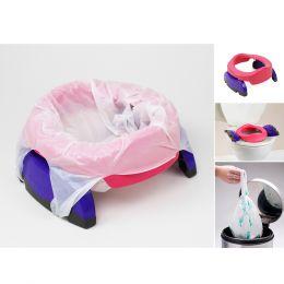 Potette Plus Potty & 3 Liners Pink & Purple