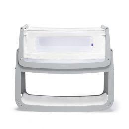 SnuzPod4 Bedside Crib Dove Grey
