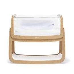SnuzPod4 Bedside Crib Natural