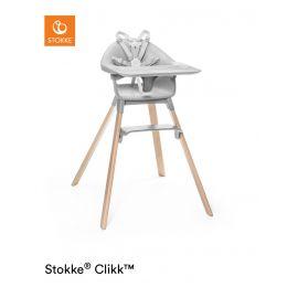 Stokke® Clikk™ High Chair Cloud Grey Plus Free ezpz Placemat