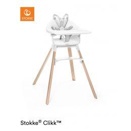 Stokke® Clikk™ High Chair White Plus Free ezpz Placemat