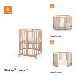 Stokke® Sleepi™ Mini / Bed Package Natural