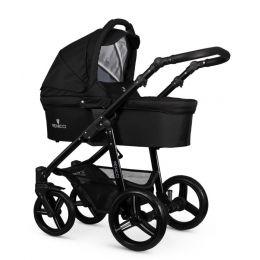 Venicci Soft 3 in 1 Travel System Black (inc Car Seat)