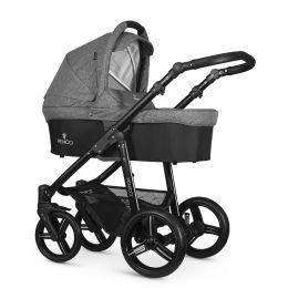 Venicci Soft 3 in 1 Travel System Denim Grey (inc Car Seat)