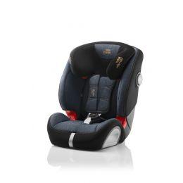 Britax Evolva 1-2-3 SL SICT Car Seat Blue Marble