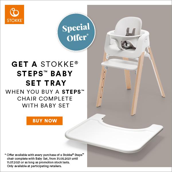 Stokke Steps Free Tray Offer