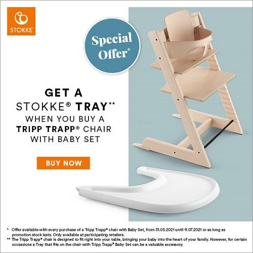 Stokke Tripp Trapp Free Tray Offer